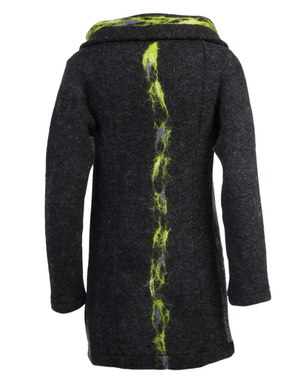 Aurora, cardigan wrap, gjoska design