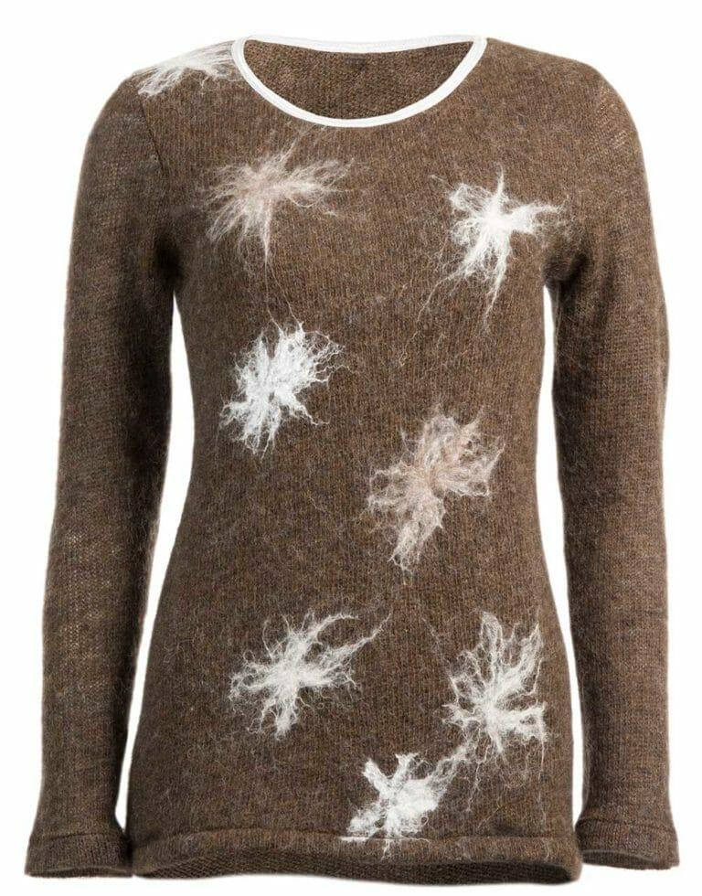 cotton grass slim sweater, gjoska.is