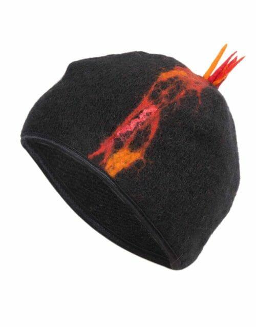 Erupting lava cap, shiny lining, gjoska.is