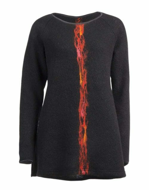 lava A-shaped sweater, gjoska design