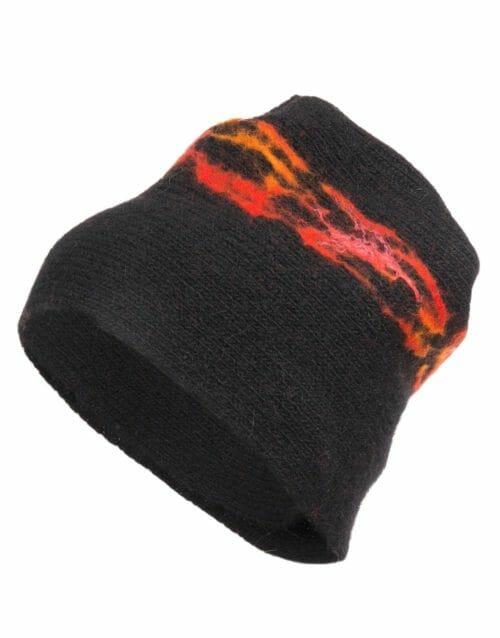 lava cap, black, gjoska.is