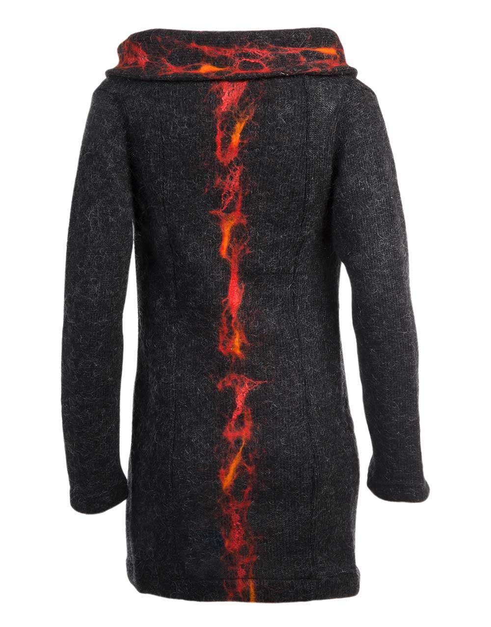 lava cardigan-wrap, gjoska.is