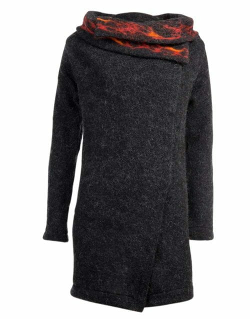 lava cardigan wrap, gjoska.is