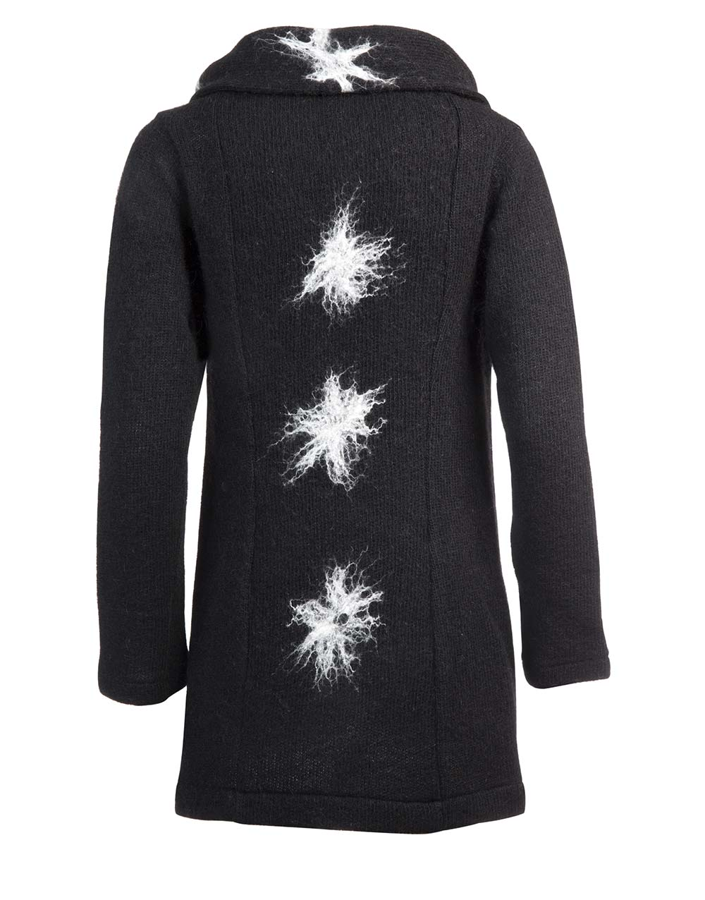 Snow flake, cardigan wrap, gjoska.is